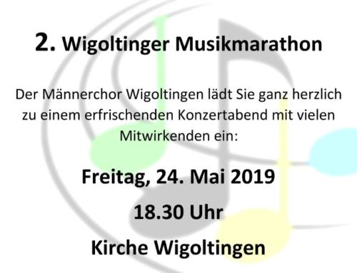 Musikmarathon in der Kirche Wigoltingen